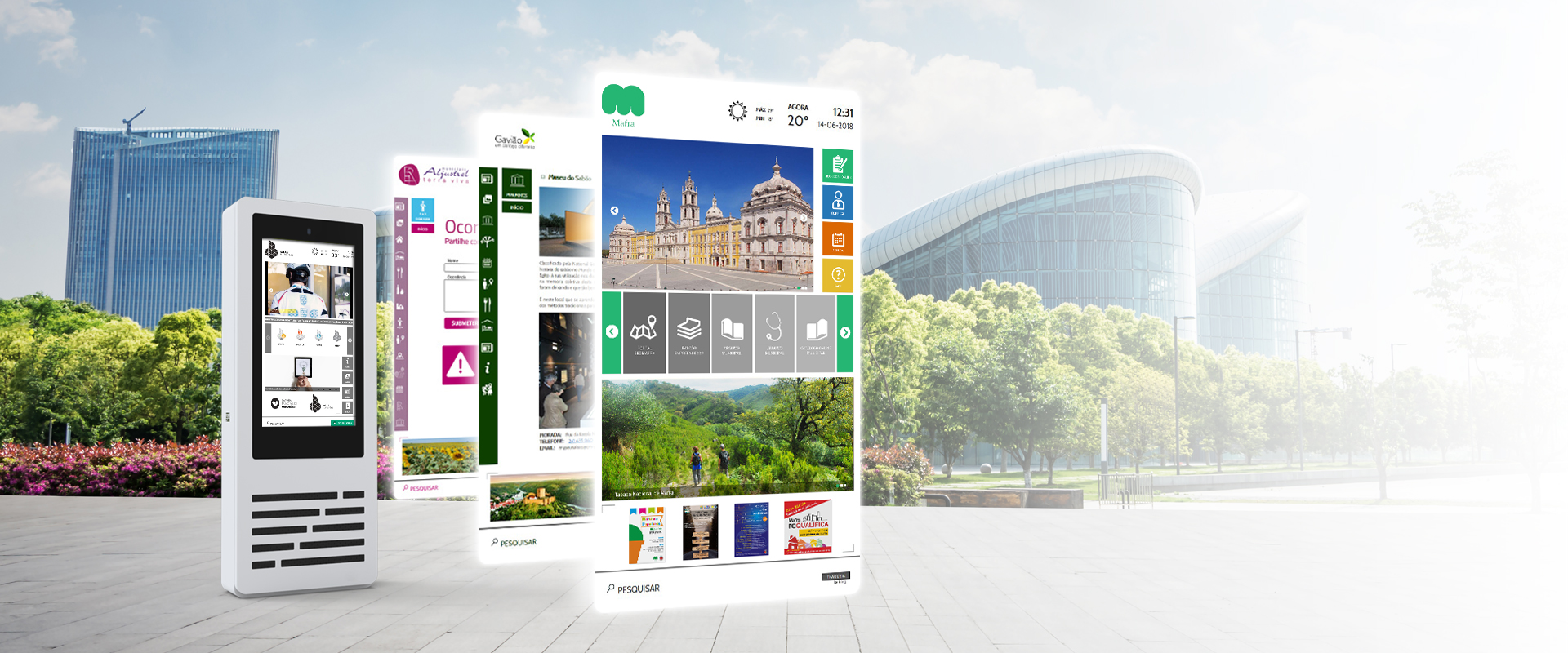 Informative software for Smart Cities