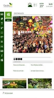 Informative software for Smart Cities - parties