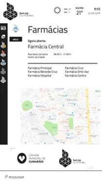 Software interativo para Smart Cities - Farmácias de Serviço