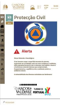 YPortal software - Proteção Civil
