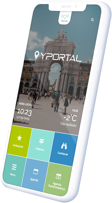 APP YPortal - A cidade que anda sempre consigo