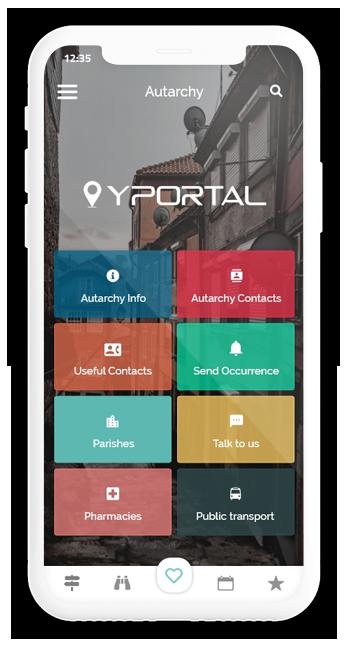 APP YPortal - O município no seu bolso
